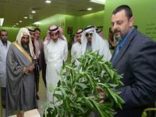 معالي مدير الجامعة يزور كرسي أبحاث سارة بنت راشد بن غنيم