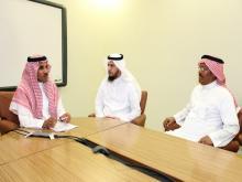 الجامعة تقيم اللقاء التعريفي الأول لانجازات كرسي سارة بن راشد بن غنيم